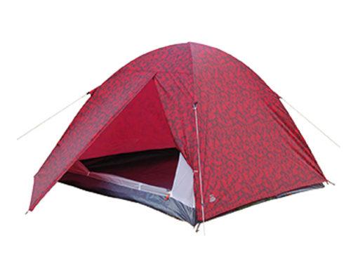 4-Person-Dome-Red