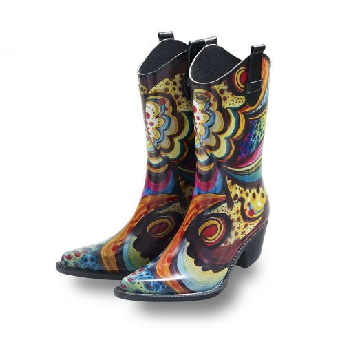 Cowboy-Boot-Wellies-Floral-Bliss
