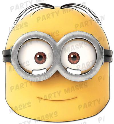 Festival-Mask-Minion-Dave-Despicable-me