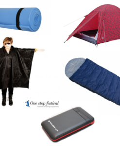 2 Man Basic Festival Kits MT-02 Tent