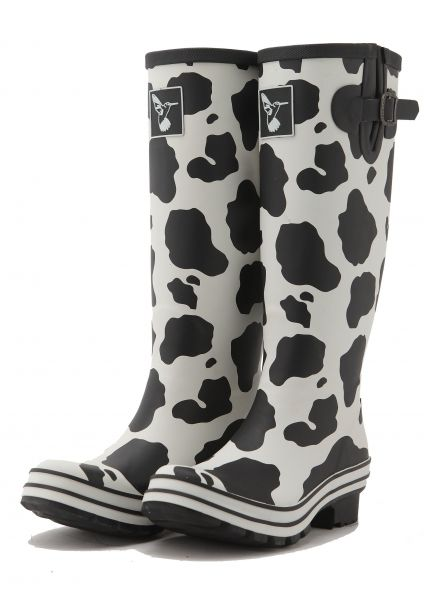 Evercreatures-Cow-Print-Welly