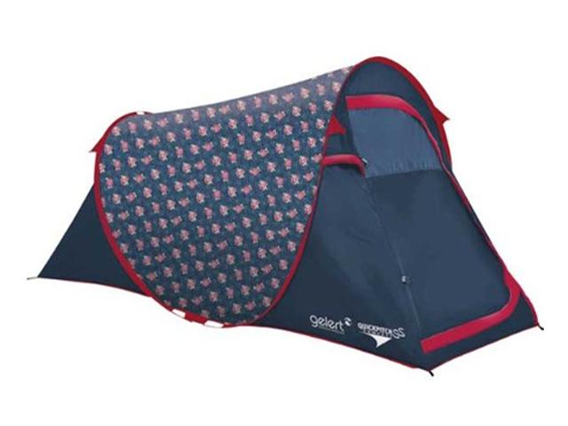 new styles ddf7a 7a3c6 Gelert Quickpitch SS Compact Tent - Rose Polkadot