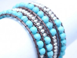 Ladies_bracelet_Aqua_beed_2_LB4