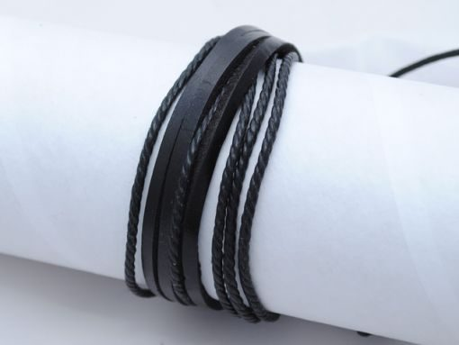 Mens_bracelet_Black_BM7