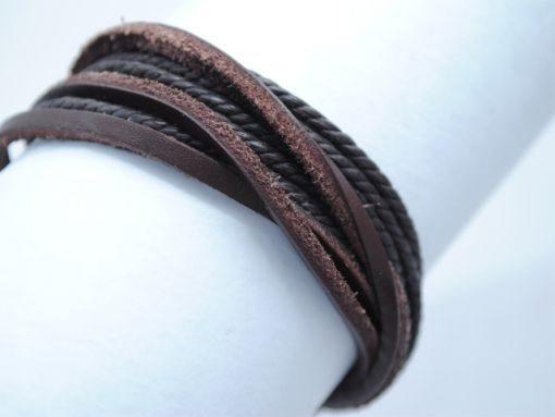 Mens_bracelet_Black_brown_BM1