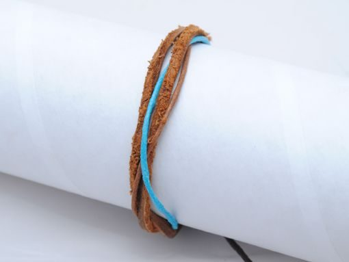 Mens_bracelet_brown_Blue_BM5