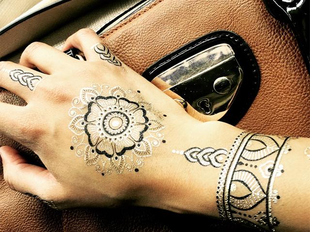 0a06d443e46c5 Metallic-Tattoo-Festival-Fashion-HBK1-Black-Mandala-5
