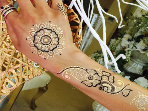 Metallic-Tattoo-Festival-Fashion-HBK1-Black-Mandala