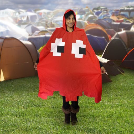 Retro_poncho_Red