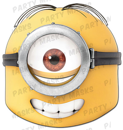 Stuart Minion Mask-Festival-Fancy-Dress
