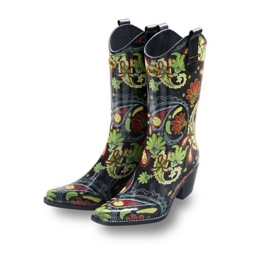 Funky-Cowboy-Boots-Welly-Boot-Paisley-Vibe