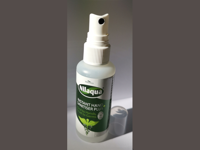 Nilaqua Hand Sanitiser - Keep clean & germs free@ Festivals